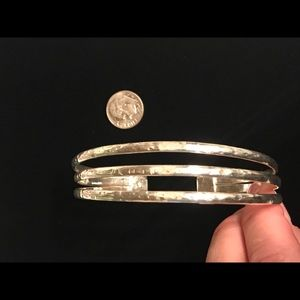 Jewelry - .925 Sterling Silver Stamped Cuff